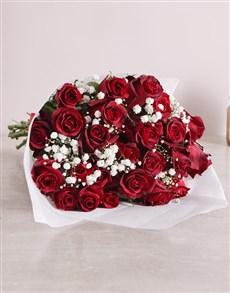 Netflorist Buy Red Rose Love Is Bouquet Original Online