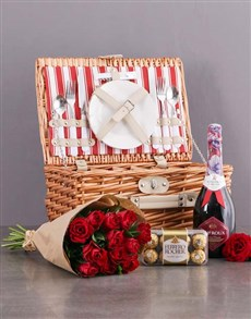Romantic Basket for Two!