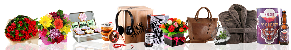 Flowers and gift Products shipped promptly and securely to Central