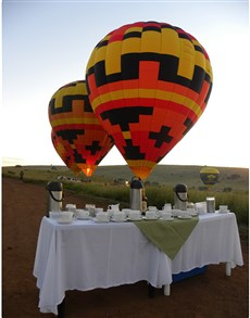 Hot Air Balloon Safari Breakfast - Johannesburg