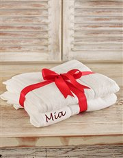 Personalised Bath Sheets