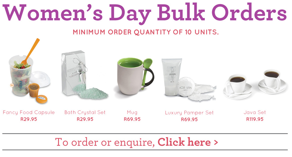 Order Women's Day Bulk Gifts Online | Delivery Nationwide