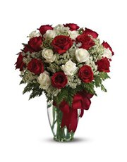 Love's divine, and roses are too. This beautiful v