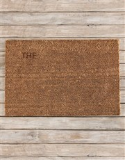 Spoil those proud home owners with this coir doorm