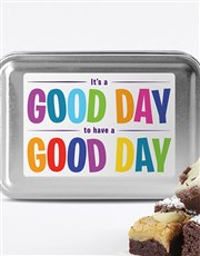 Have Great Day Brownie Tin
