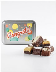 Congratulations Brownie Tin
