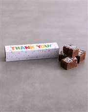 Thank You Brownie Box
