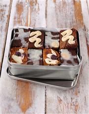 Gourmet Brownies for Grandpa