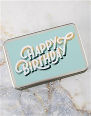 Birthday Wishes Brownie Tin
