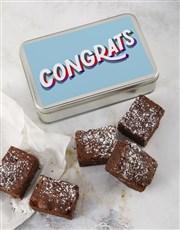Congrats Brownie Tin