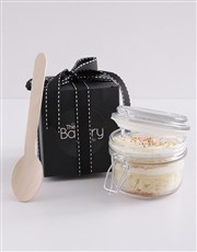 Single Vanilla Cupcake in a Jar