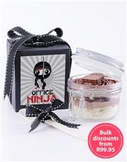 Office Ninja Bar One Cupcake Jar