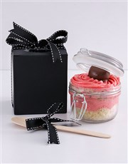 Personalised Speckled Egg Marshmallow Cupcake Jar