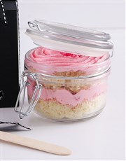 Personalised Best Mom Turkish Delight Cupcake Jar