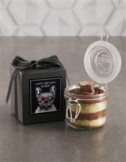 Personalised Bar One Birthday Cake Jar