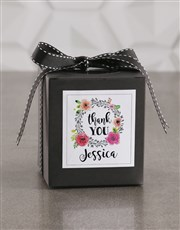 Personalised Thank You Vanilla Cake Jar