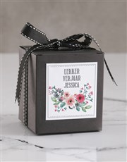 Personalised Lekker Verjaar Red Velvet Cake Jar