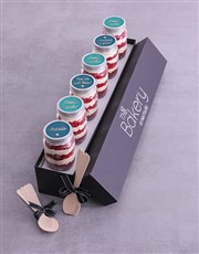 Personalised Good Luck Cake Jars
