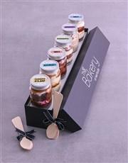 Personalised Congrats Cake Jars