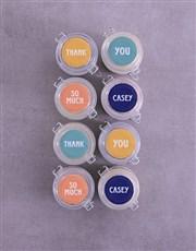 Personalised Thank You Cupcake Jars