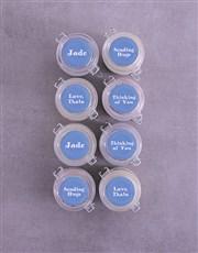 Personalised Sympathy Cupcake Jars
