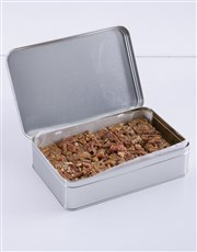 Chewy Pecan Nut Bars for Grandma