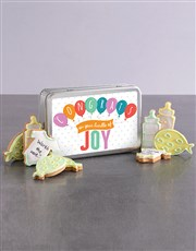 New Bundle of Joy Cookie Tin