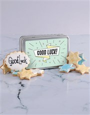 Good Luck Cookie Tin