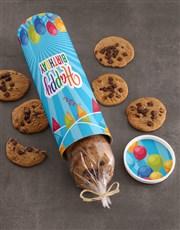 Birthday Cookie Tube Surprise
