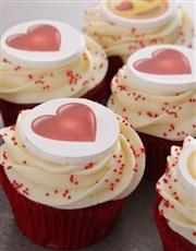 Emoji Love Cupcakes
