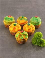 Spring Day Carrot Cupcakes