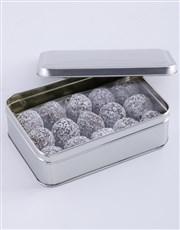 Personalised Best Teacher Fudge Truffle Tin