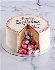 Vanilla Pinata Cake