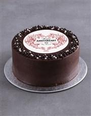 Personalised Anniversary Cake