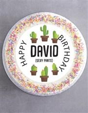 Personalised Sexy Birthday Cake