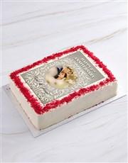 Happy Anniversary Photo Cake
