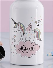 Personalised Discovery Unicorn Drink Bottle