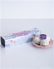Personalised Good Moms Dipped Blueberry Macaroons