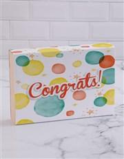 Congrats Bubble Doughnut Box