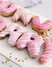 Donut Worry Doughnut Letters
