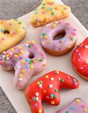 Congrats Doughnut Letters