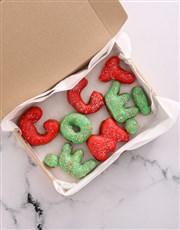 GO GET'EM Doughnut Letters