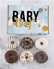 Baby Boy Doughnut Letters