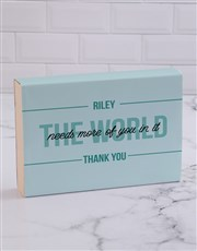 Personalised Thank You Doughnuts