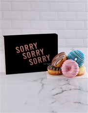 Personalised Apology Doughnuts