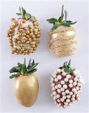 Gold Bells Dipped Strawberries