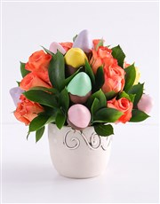Pastel Goodness Strawberry and Rose Bouquet