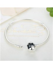 Sterling Silver 925 Pandora Compatible with Silver