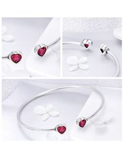 Sterling Silver (925) Open 50 x 60mm Bangle, with
