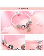 Silver Cubic Zirconia Bangle Bracelet. Beautiful i